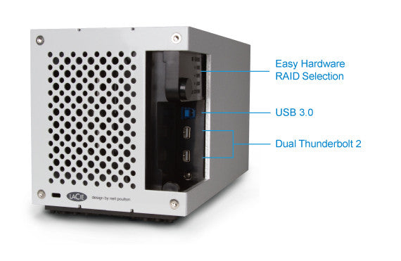 2big Thunderbolt™ 2 & USB3 RAID ENCLOSURE