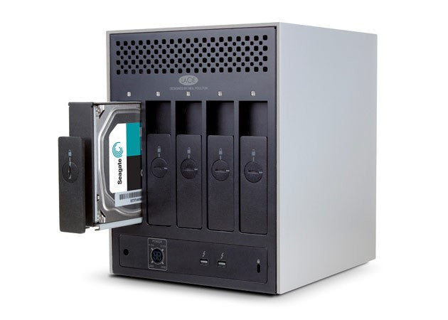 5big Thunderbolt™ 2, RAID FRONT OPEN