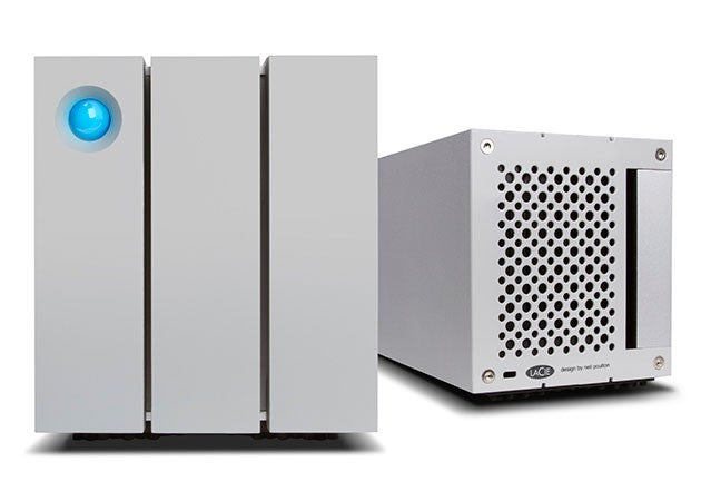 2big Thunderbolt™ 2 & USB3,  12To RAID,  FRONT AND BACK