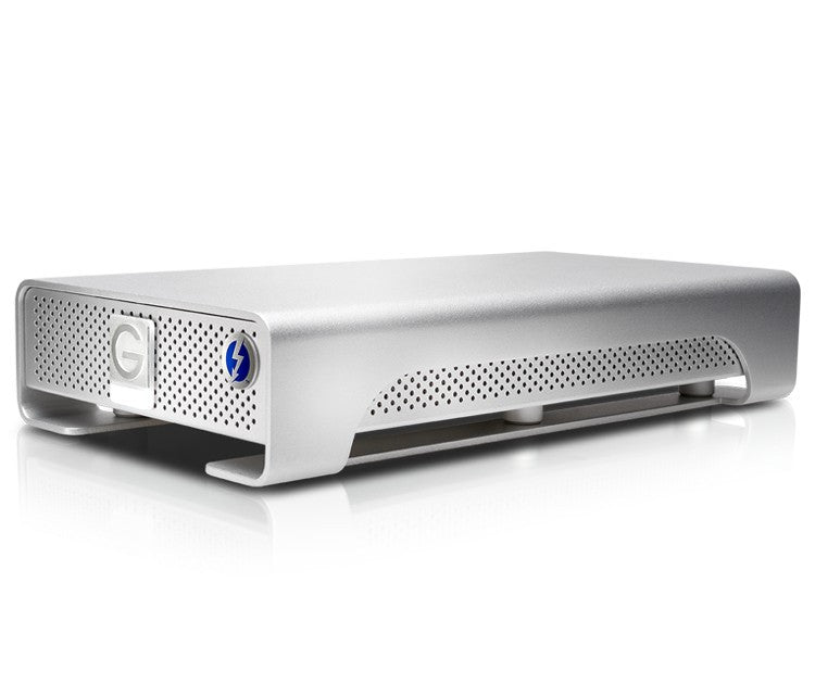 G-DRIVE Thunderbolt USB 3, 4To SIDE VIEW