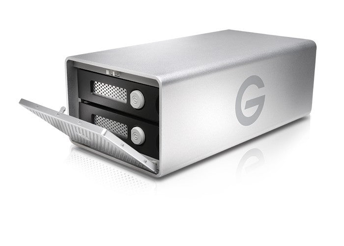 G-RAID USB3 with Removable drive side open drawer
