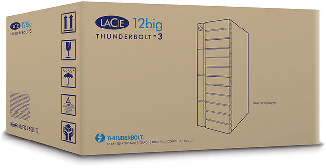 12big LaCie Thunderbolt3™ shipping box