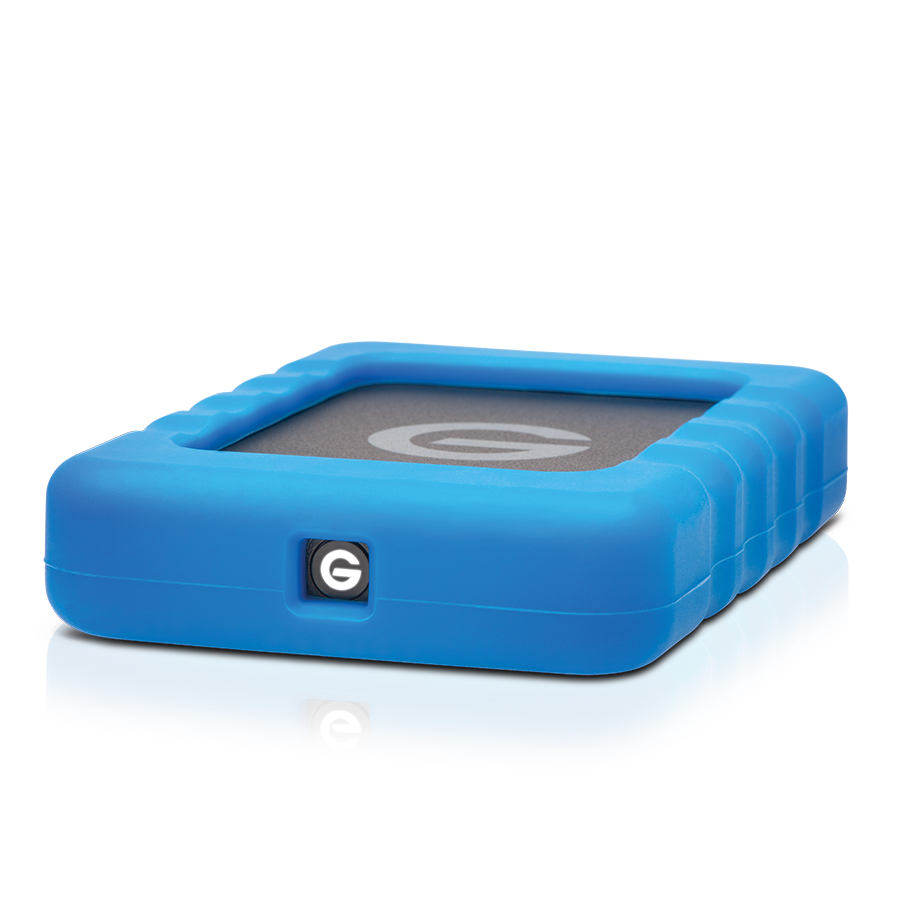 G-DRIVE EV RAW USB3 flat view