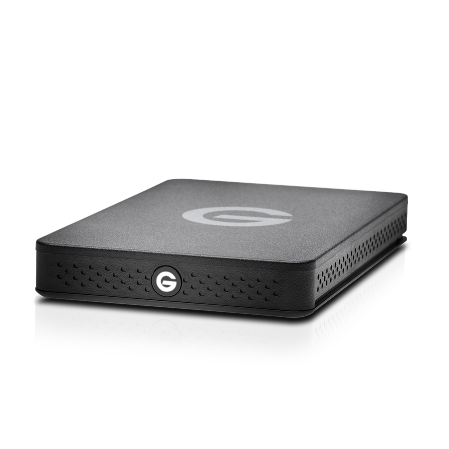 G-DRIVE EV RAW USB3 view without rugged