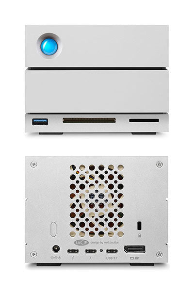 2big Dock Thunderbolt™ 3 front and back