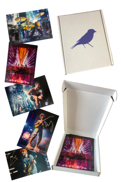 Autographed Imagine Dragons Postcard Set