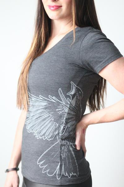 Exclusive TRF Sparrow Women's Tee Designed by Tim Cantor