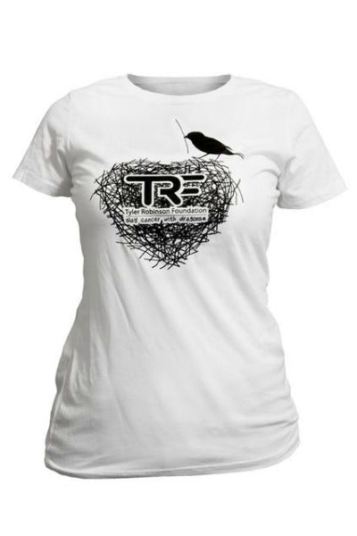 Women's and Girl's T Shirt White