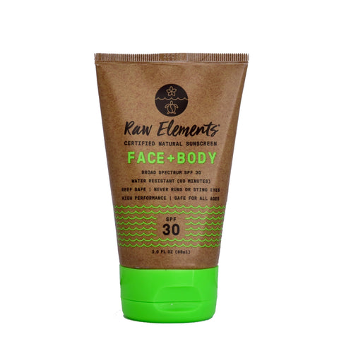 Raw Elements USA Face + Body SPF30