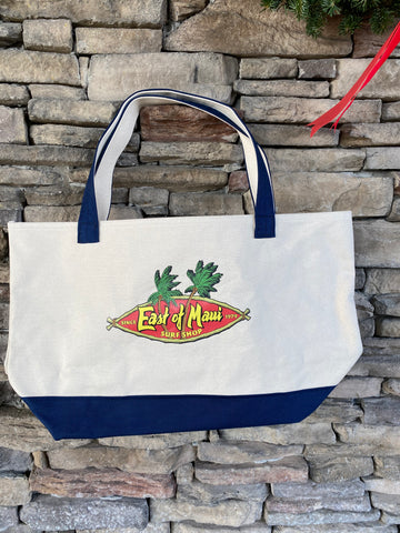 East of Maui Canvas Tote Bag Red