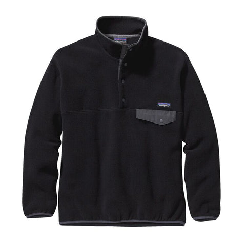 Patagonia Synchilla Snap-T Pullover Black