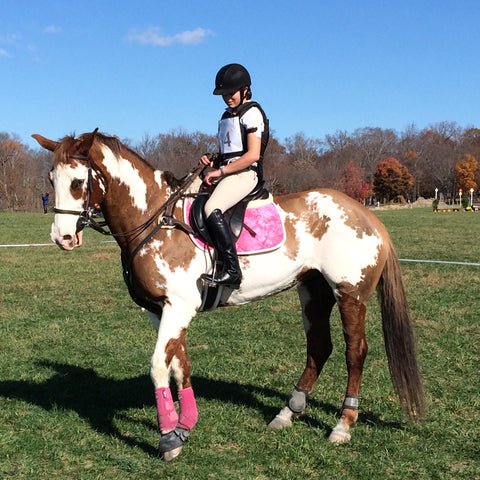 Maisey Flirtatious and Kaylyn Cunningham at Loch Moy Maryland Horse Trials
