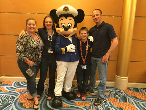 Family Picture Disney Cruise Line Magic