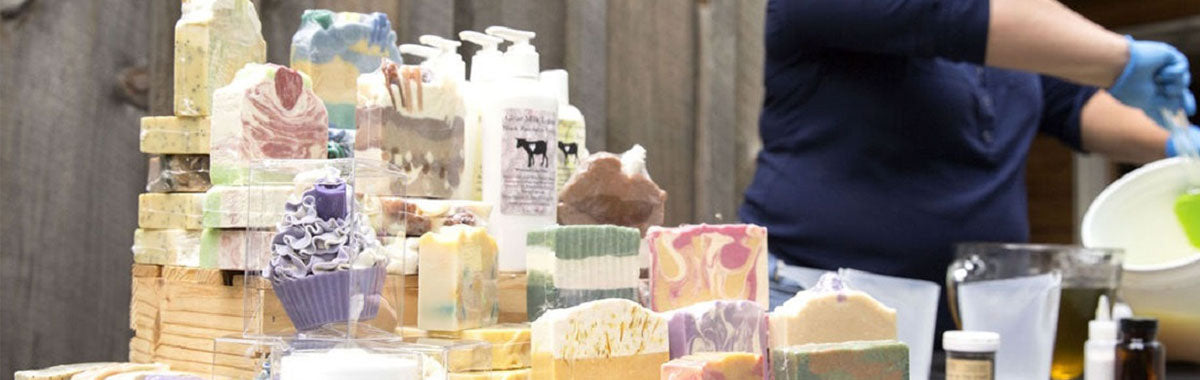 Handmade Goat Milk Soap and Lotions at Whitetail Lane Farm