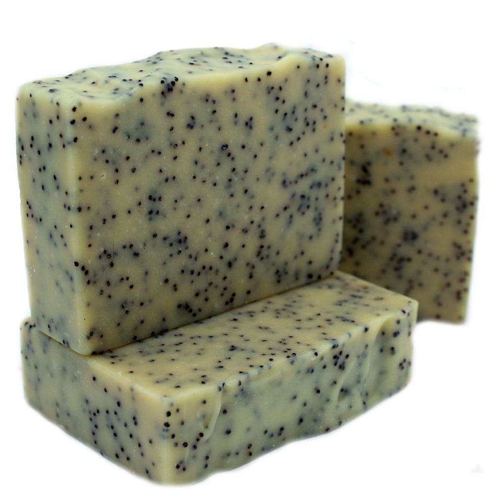 Exfoliating - Lemongrass Sage Goats Milk Soap