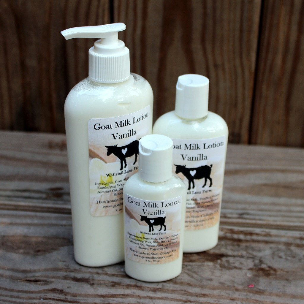 Lotion - Goat Milk Lotion - Vanilla