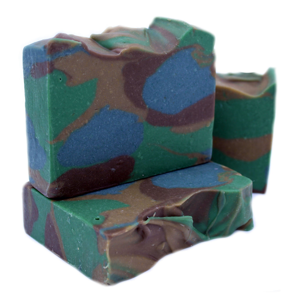 Men's - Camo Goats Milk Soap