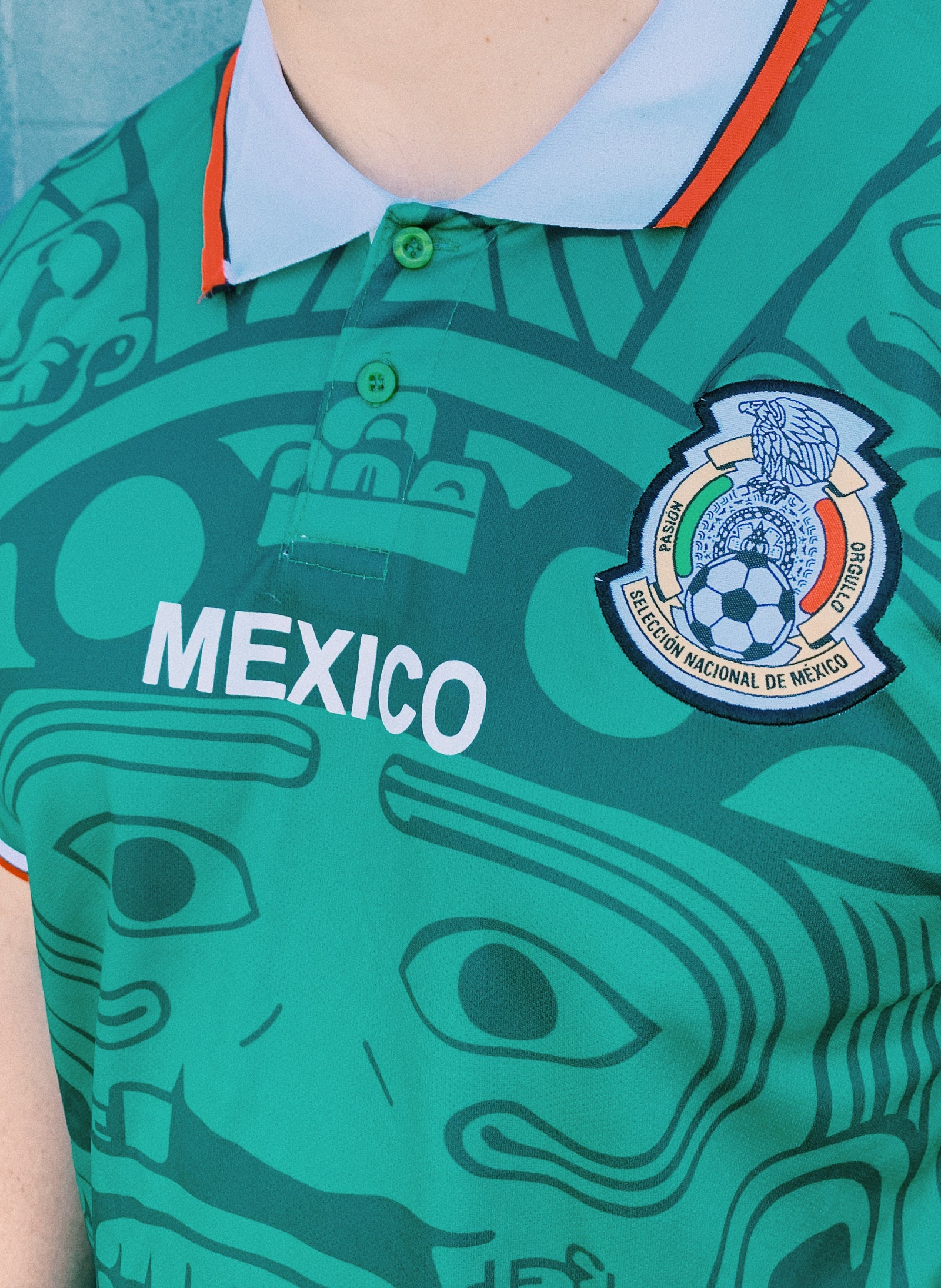 Mexico 1998 Green Jersey By MadStrange