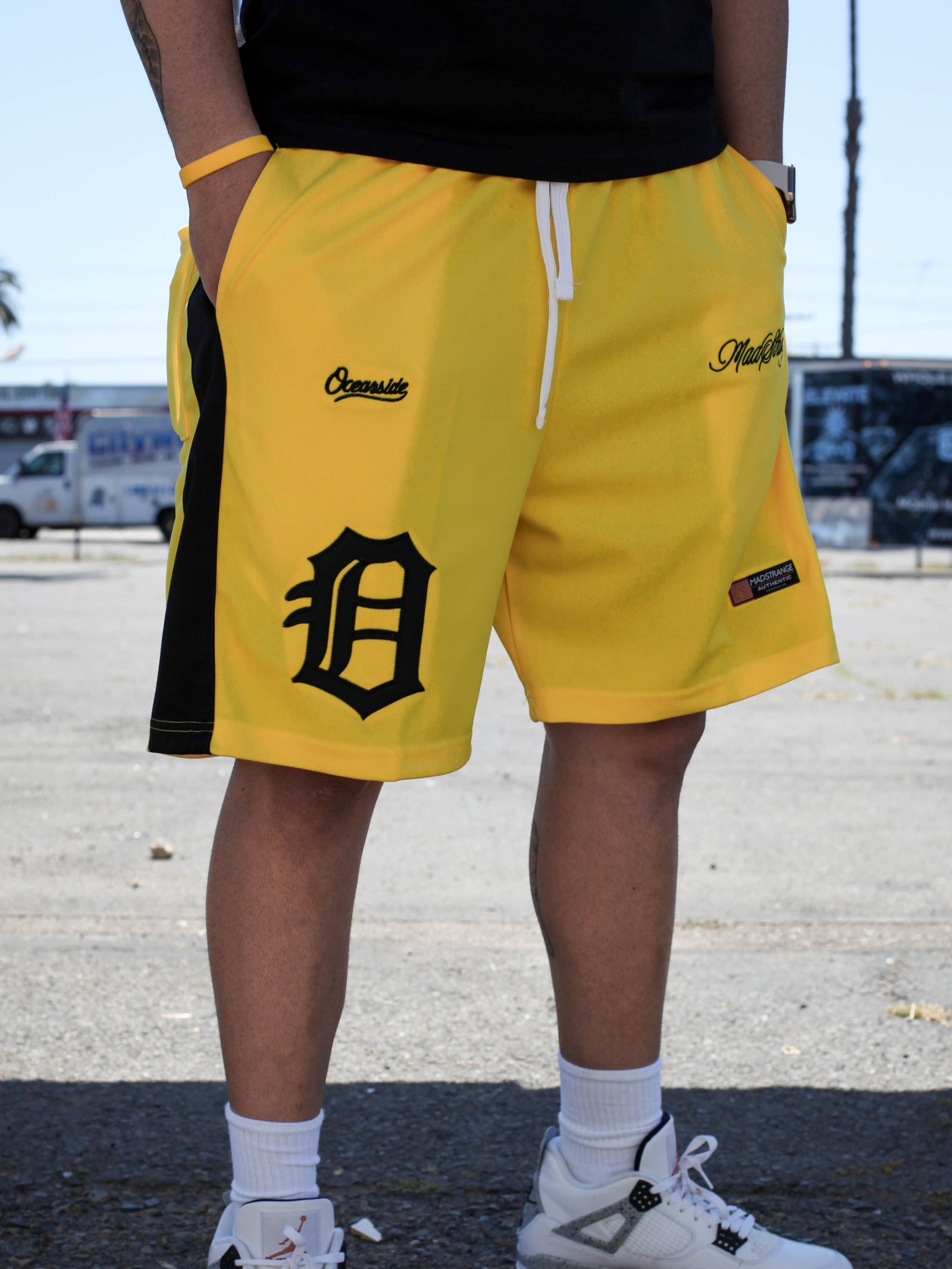 Saucy Me Shorts (Yellow)