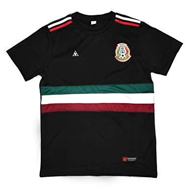 MadStrange Mexico 3rd Black Soccer Jersey