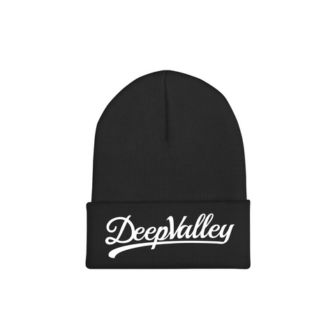 NAVY BLUE OCEANSIDE PATCH BEANIE