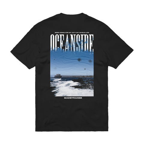 OCEANSIDE STITCHED POCKET T-SHIRT