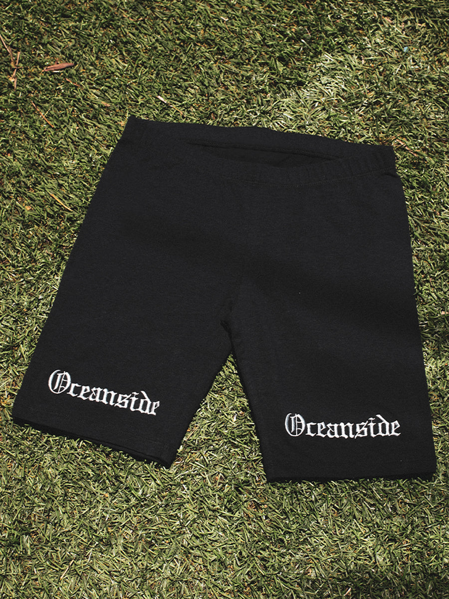 Oceanside Oe Biker Shorts (Black)