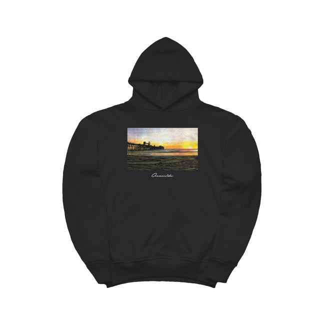 Pier Sunset Classic Hoodie