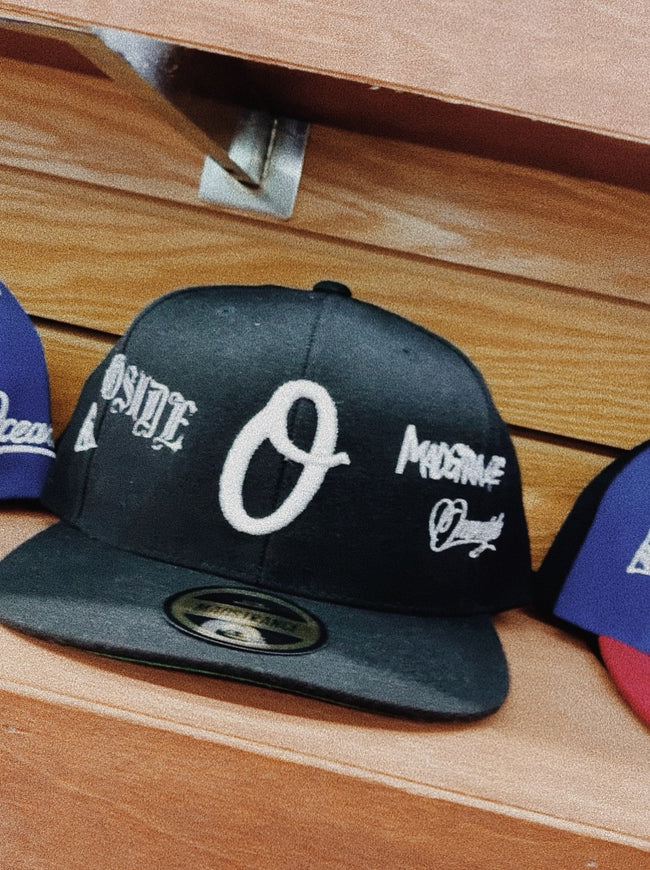 O MadStrange Snapback (Black) In-Store Exclusive