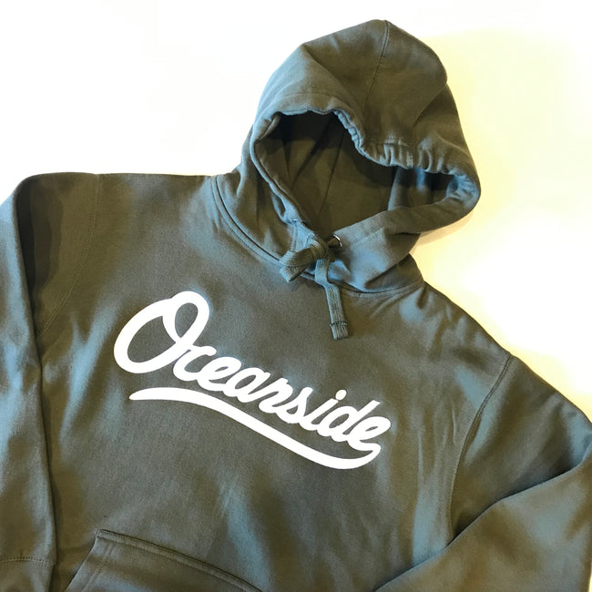 Classic Oceanside Hoodie Olive (Size S)