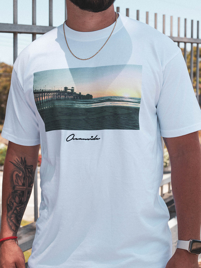 Pier Reppin' T-Shirt (WHITE)