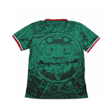 MEXICO 1998 RETRO SOCCER JERSEY BY MADSTRANGE