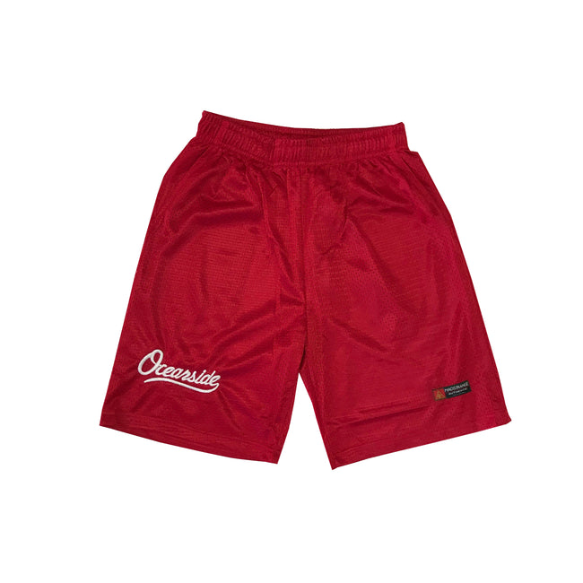 Classic Oceanside Shorts (RED)