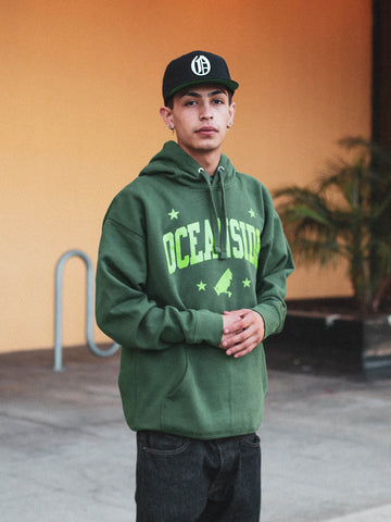 Serve Oceanside Stitched Hoodie