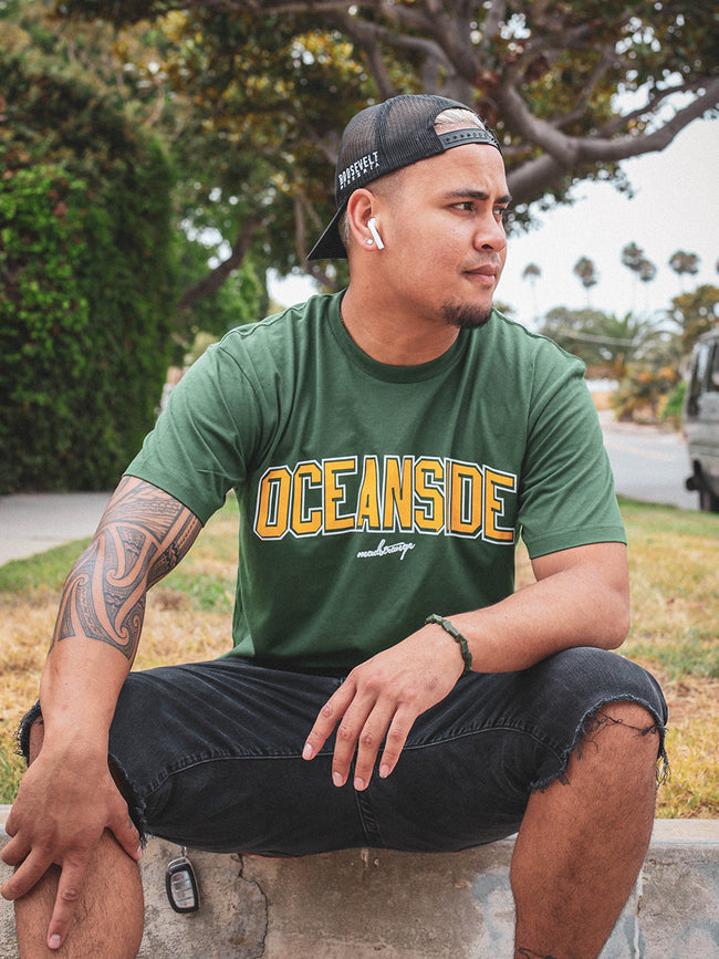 Oceanside Athletica T-Shirt (GREEN)