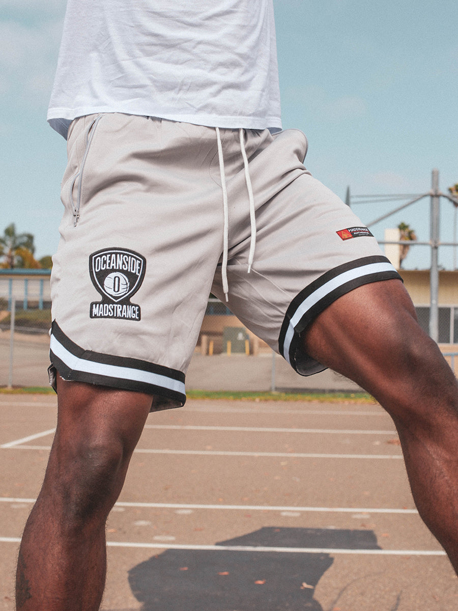 Oceanside Nets Shorts (Grey)