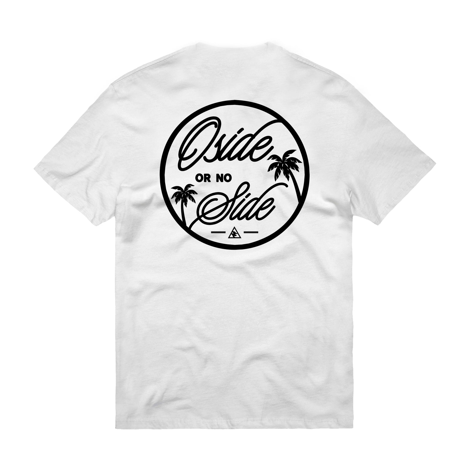 Oside or no Side Circle (White) T-Shirt