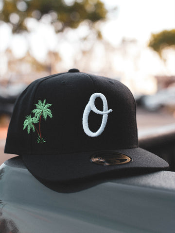 Old English Flannel Snapback (GREEN)