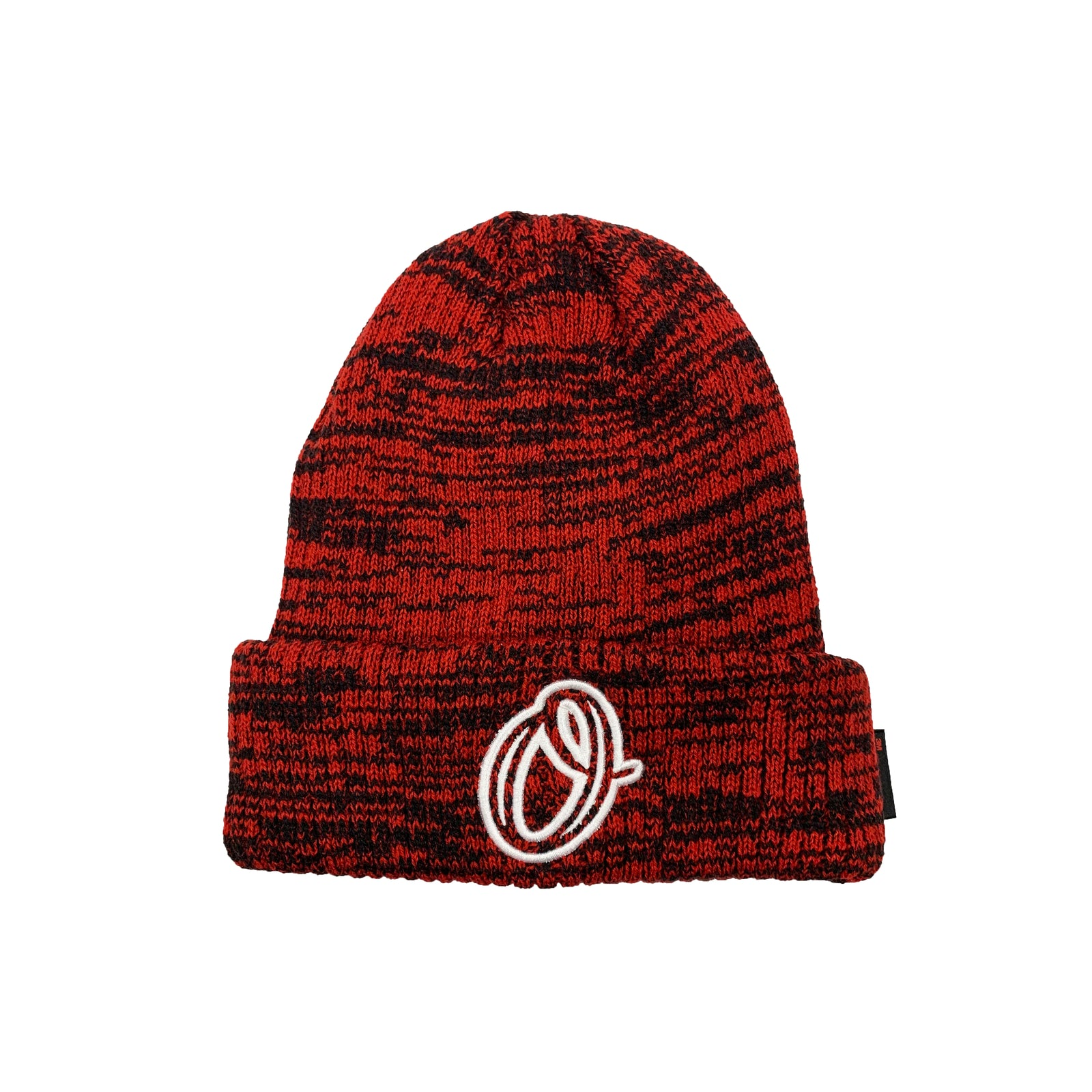 Circle O Beanie (Red/Black)