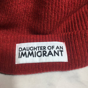 DAUGHTER OF AN IMMIGRANT BEANIE