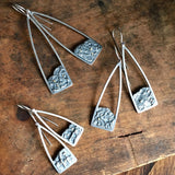 Lunarscape Steeple Earrings