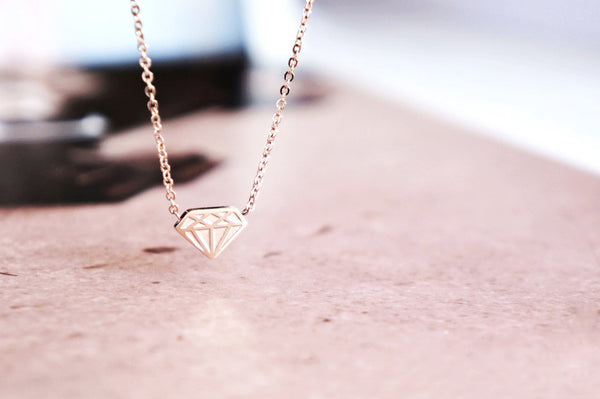 Diamond Necklace - 3 colours