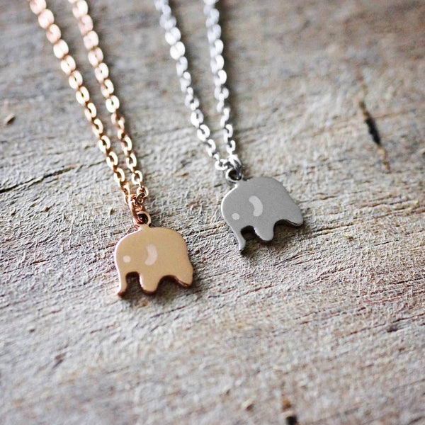 Elephant Necklace - 2 colours
