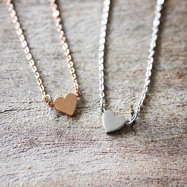 Heart Necklace - 3 colours
