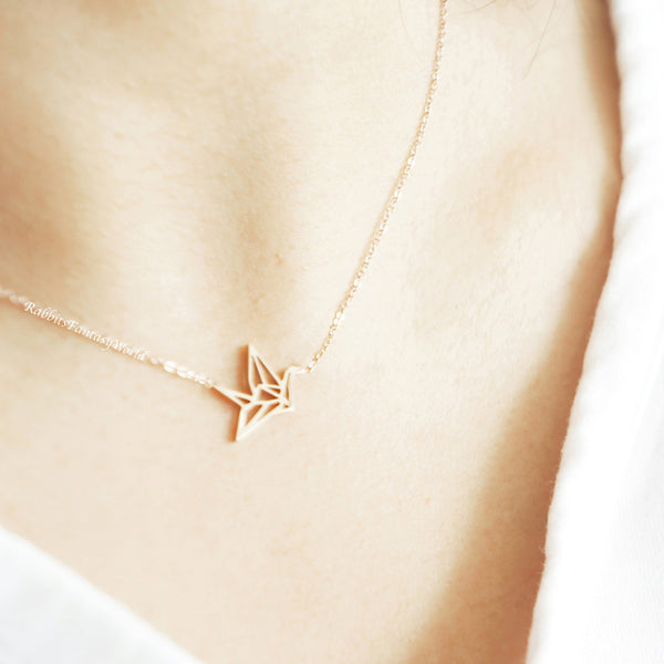 Simply Fashion - Origami Crane Necklace – Introvert Palace | 600x600