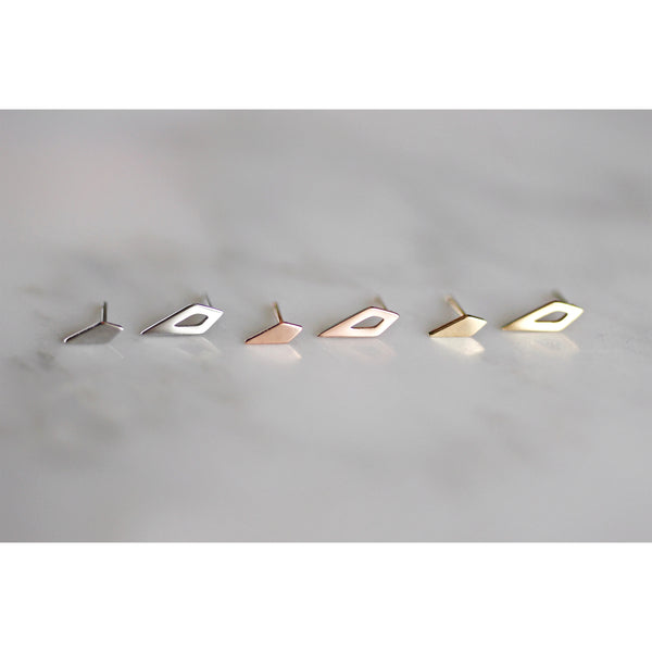 Spike Open Stud Earrings - 3 colours