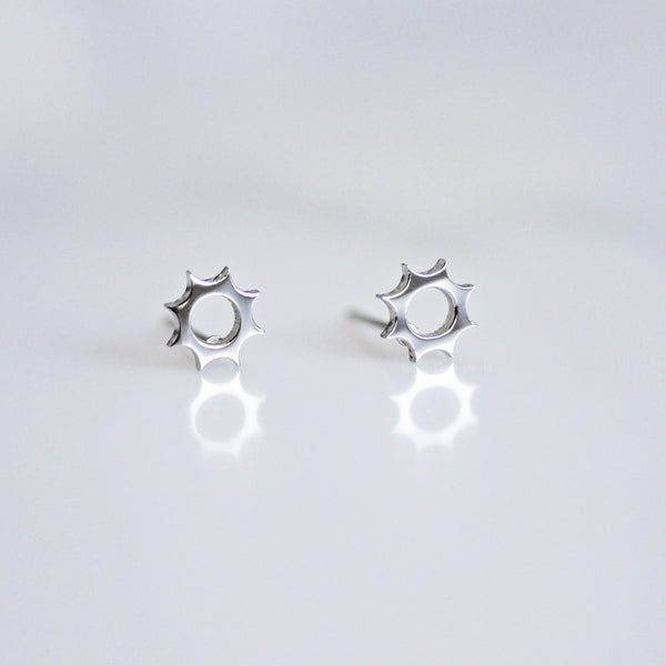 The Weather - Sun Stud Earrings - 3 colours