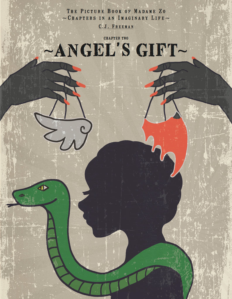 "Ebook - The Picture Book of Madame Zo, Chapter Two: ""Angel's Gift"""