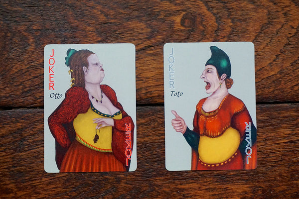the two jokers, playing card oracle alchemy edition deck, c.j. freeman