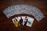 random selection of cards, playing card oracle alchemy edition deck, c.j. freeman